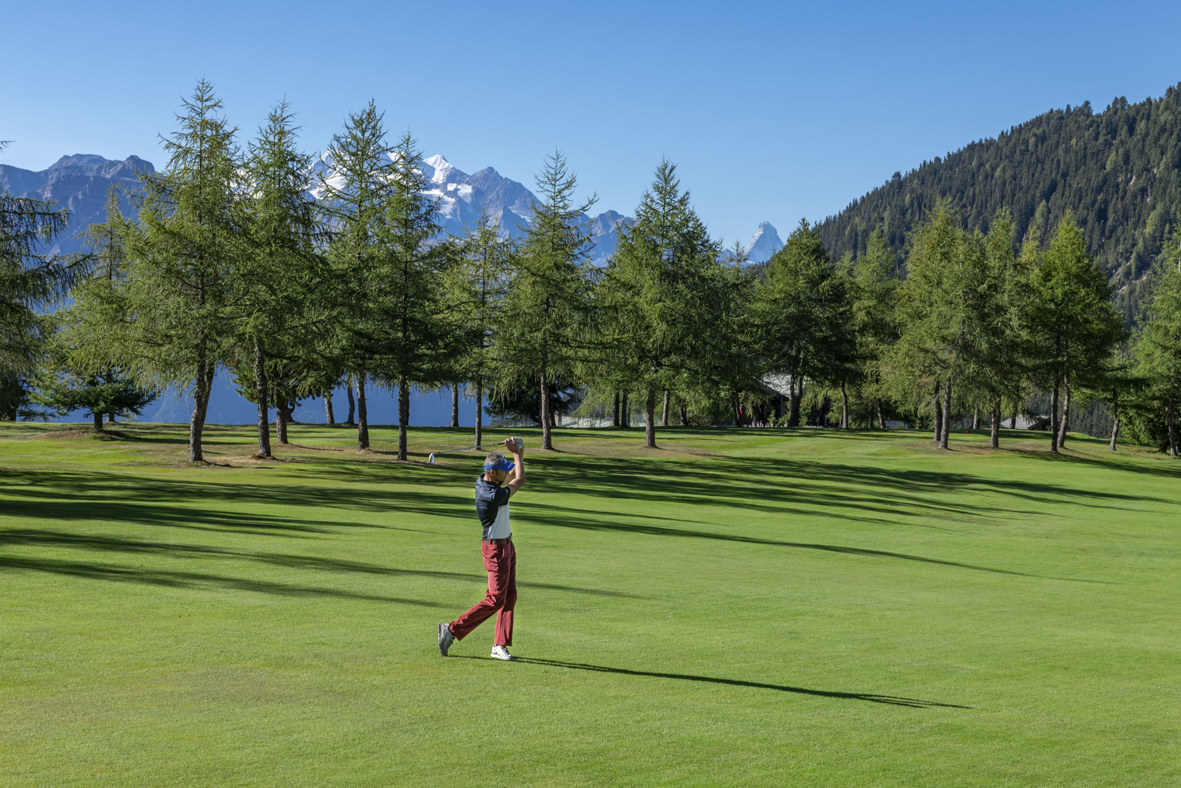 Golfplatz Riederalp